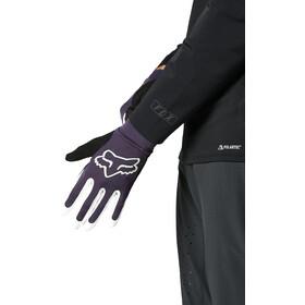 Fox Flexair Foxhead Gloves Men, dark purple